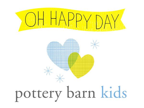 Oh Happy Day + Pottery Barn Kids