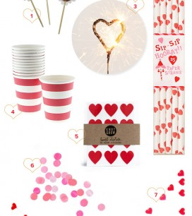 Valentine's Day Party Supplies | Oh Happy Day!