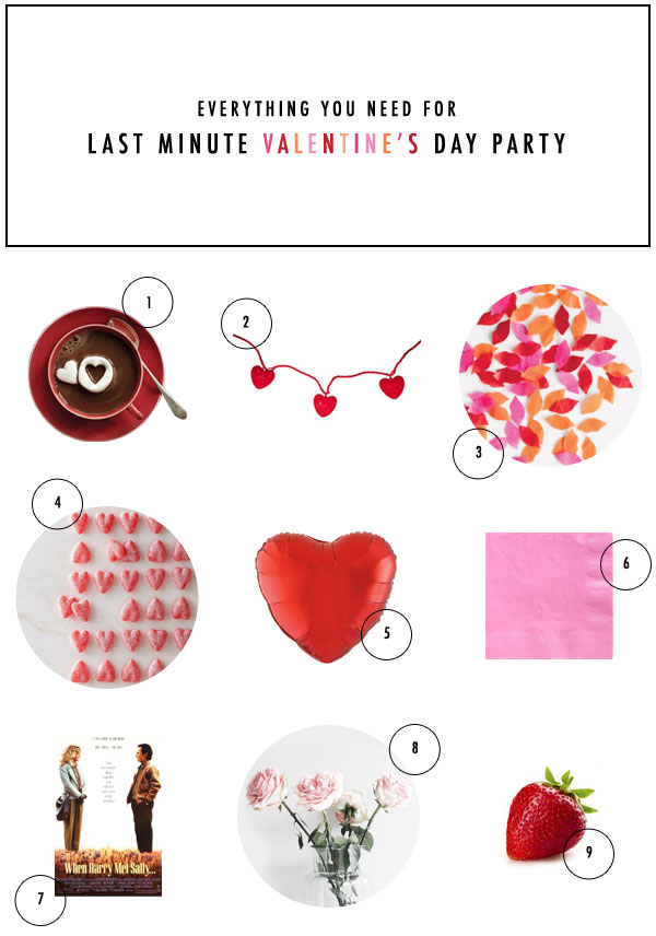 Last Minute Valentine's Day Party | Oh Happy Day!