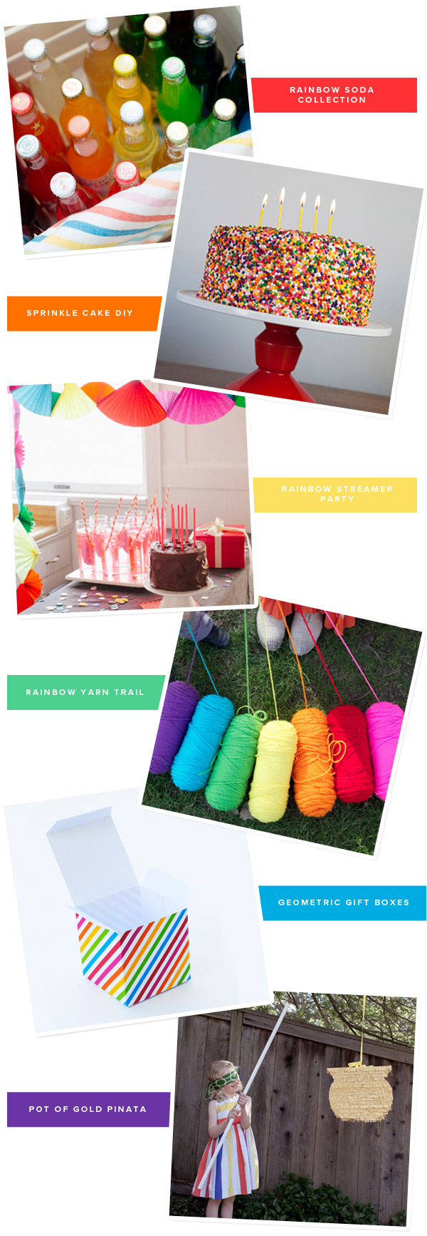 Rainbow Party Ideas | Oh Happy Day!