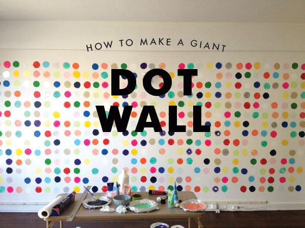Make a Dot Wall with Potatoes! | Oh Happy Day
