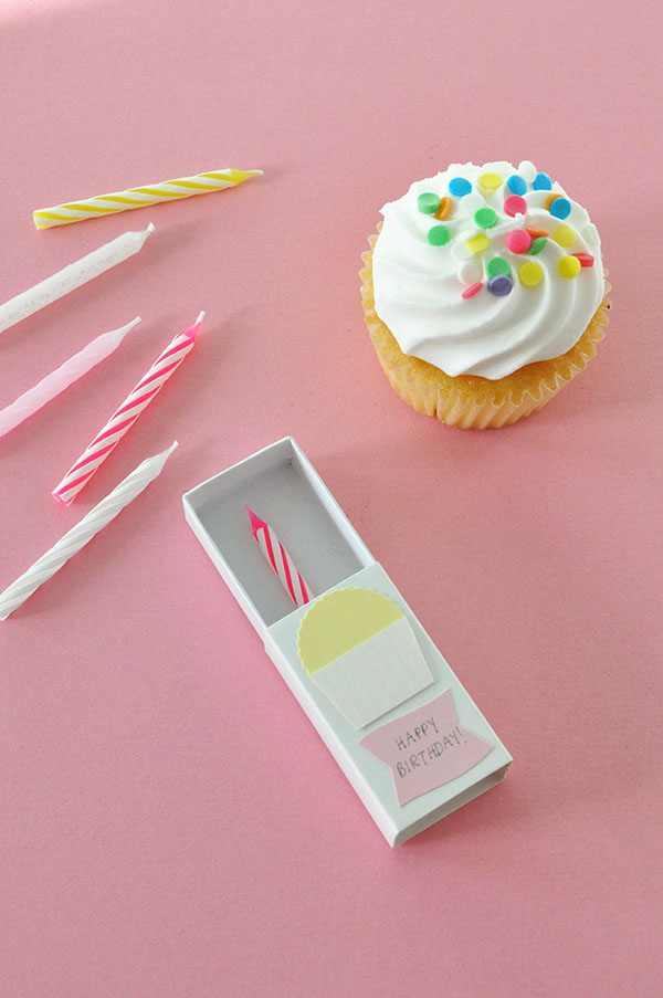 Matchbox Birthday Card | Oh Happy Day!