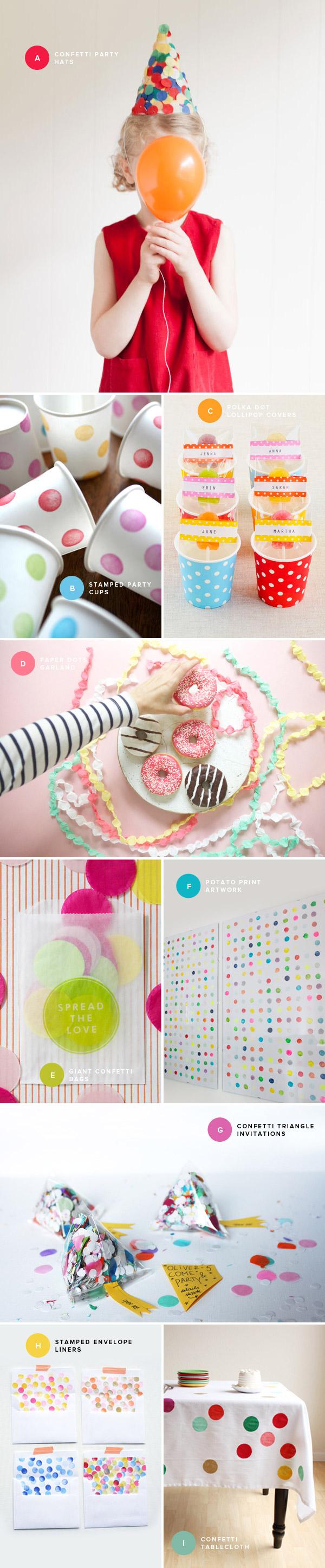 Polka Dot Party Ideas   Oh Happy Day!