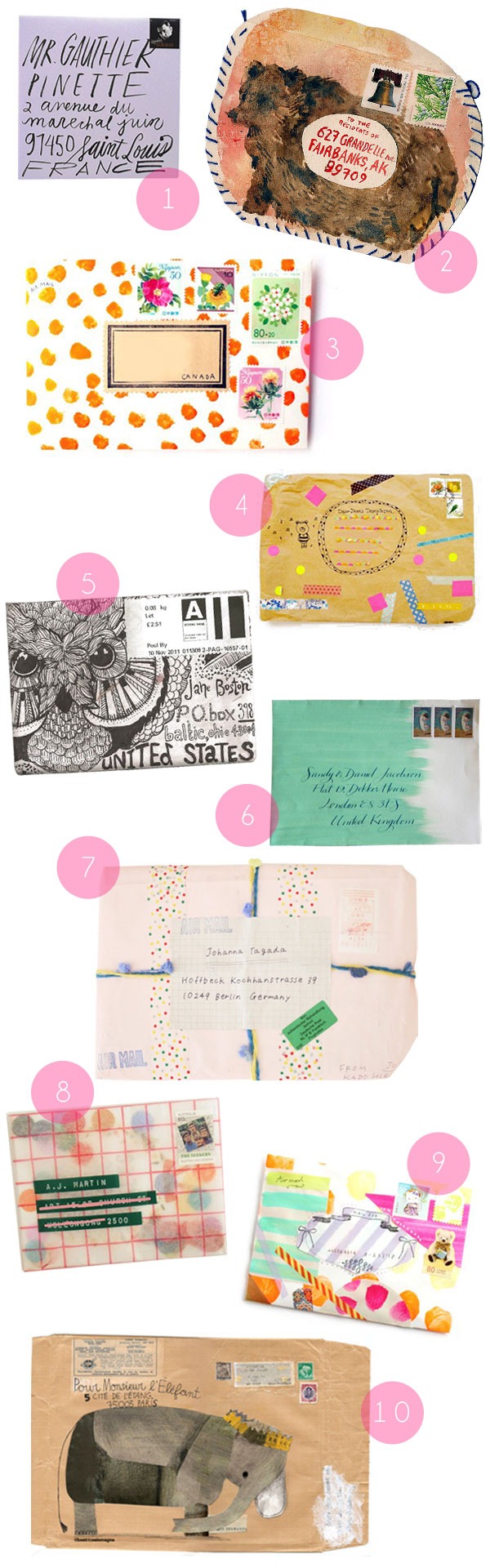 Envelope Inspiration | Oh Happy Day!