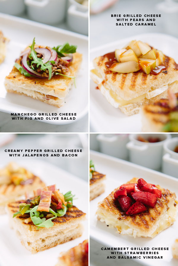 Grilled Cheese Party | Oh Happy Day!