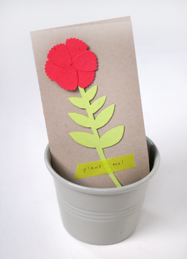 Plant a Flower Day Card | Oh Happy Day!