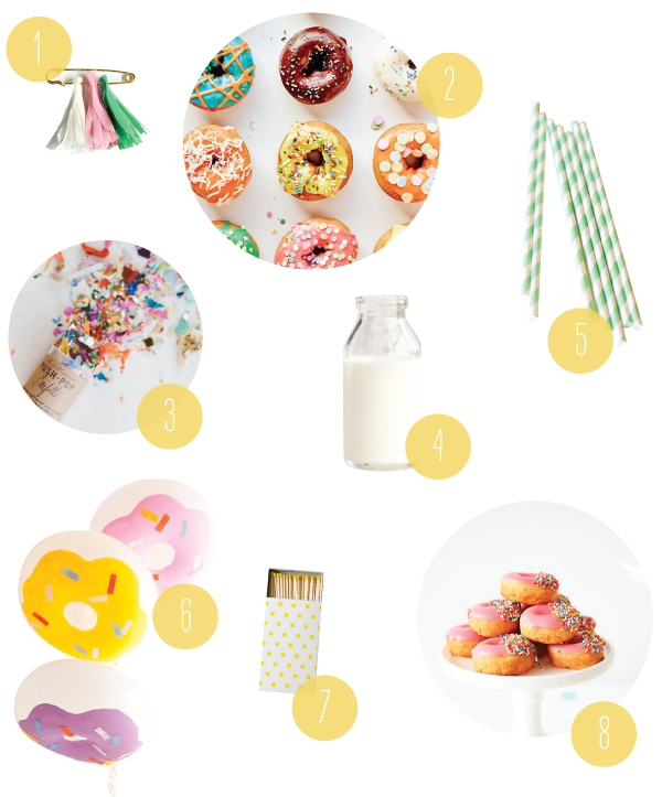 A Donut Party | Oh Happy Day!