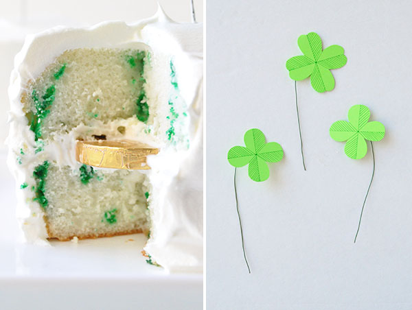 Shamrock Money Cakes | Oh Happy Day!