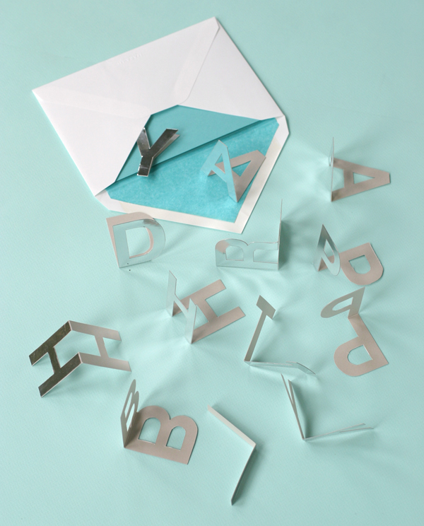 Happy Birthday Popup Letters | Oh Happy Day!