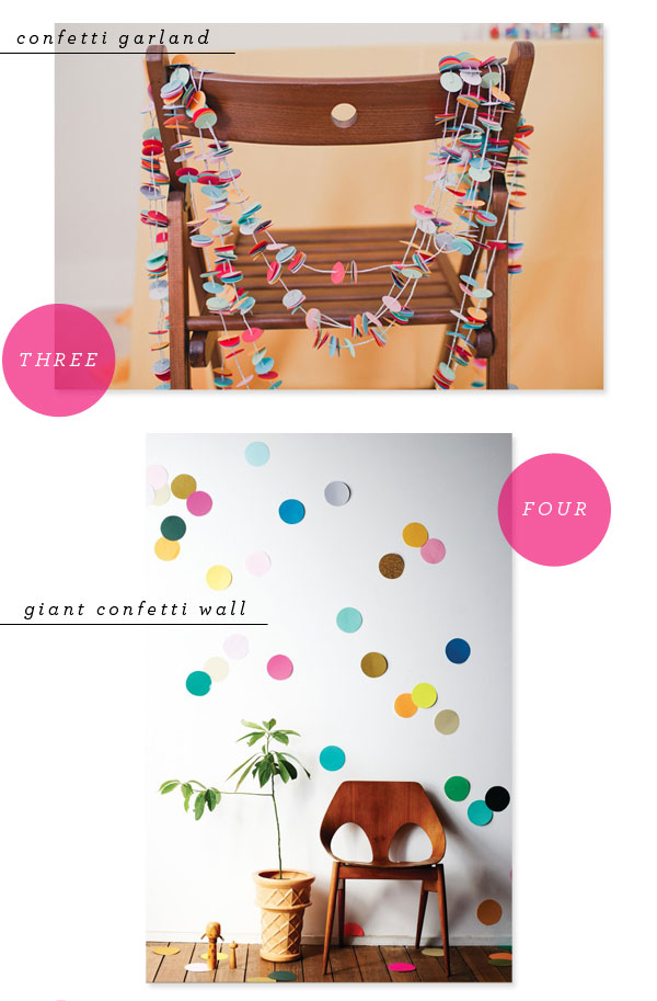 Favorite Party Pins: Confetti | Oh Happy Day!