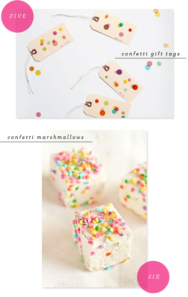 Favorite Party Pins: Confetti   Oh Happy Day!