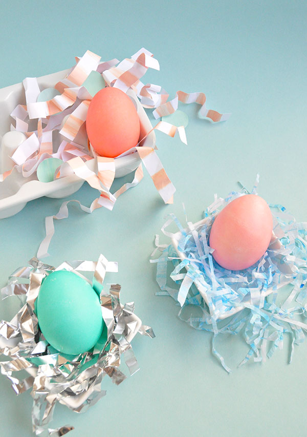 DIY Easter Nesting Three Ways | Oh Happy Day!