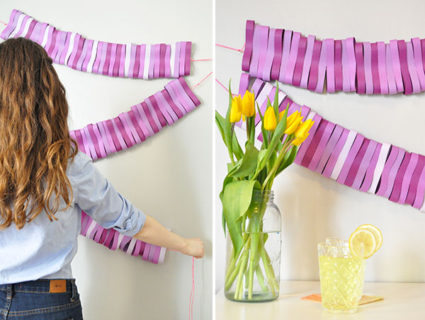 Loopy Paper Garland | Oh Happy Day!