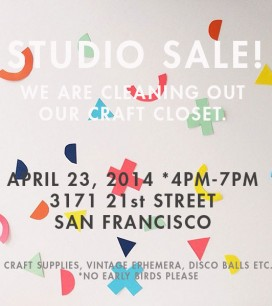 Oh Happy Day Studio Sale