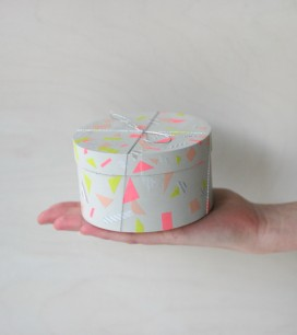 Washi Tape Keepsake Box | Oh Happy Day!