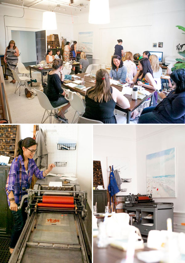 Oh Happy Day Craft Nights: Letterpress Class