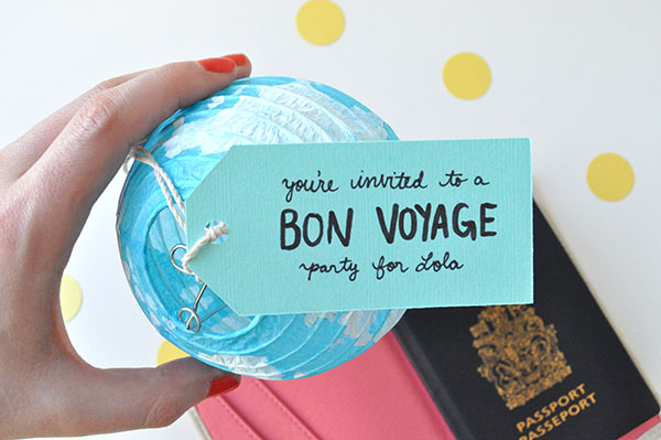 Bon voyage party invitations stopboris Image collections