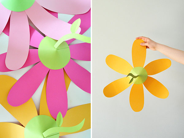 Paper Flower Party Hats | Oh Happy Day!