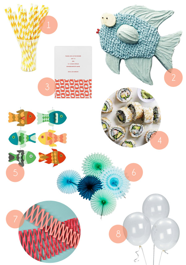 An Under the Sea Party | Oh Happy Day!