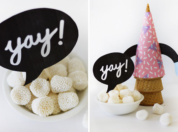 Ice Cream Cone Buddies | Oh Happy Day!
