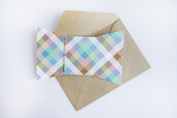 Printable Father's Day Bow Tie Card | Oh Happy Day!