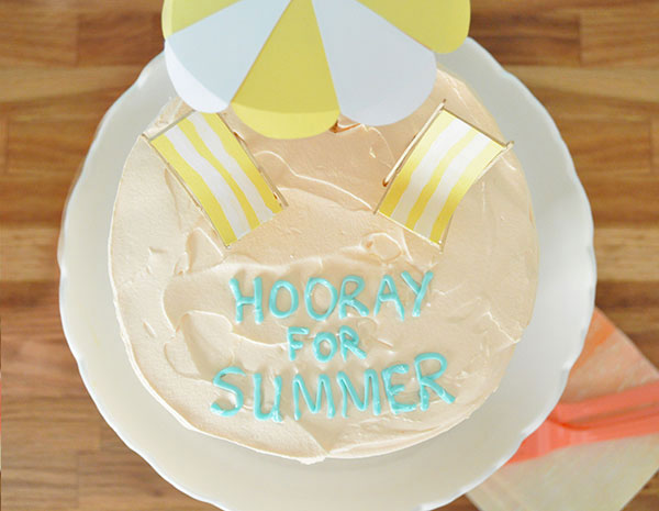 Beach Cake Toppers | Oh Happy Day!