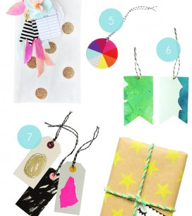 Gift Tag Inspiration | Oh Happy Day!