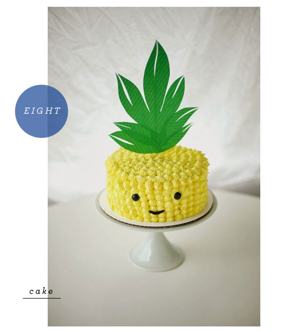 Favorite Party Pins: Pineapples