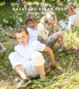 Backyard Relay Race