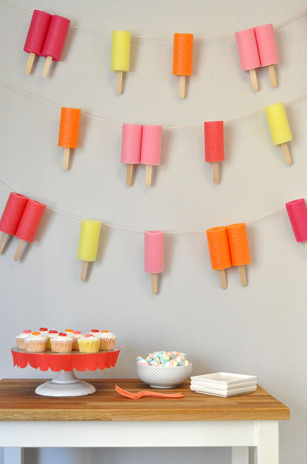Jumbo Popsicle Garland | Oh Happy Day!