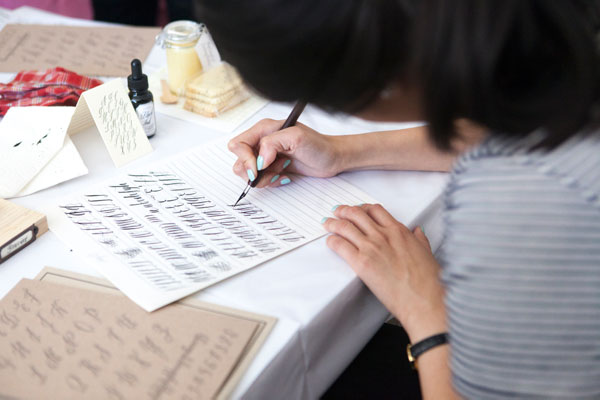 Craft Night: Calligraphy Class | Oh Happy Day!