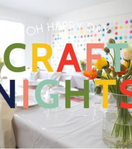 Oh Happy Day Craft Nights