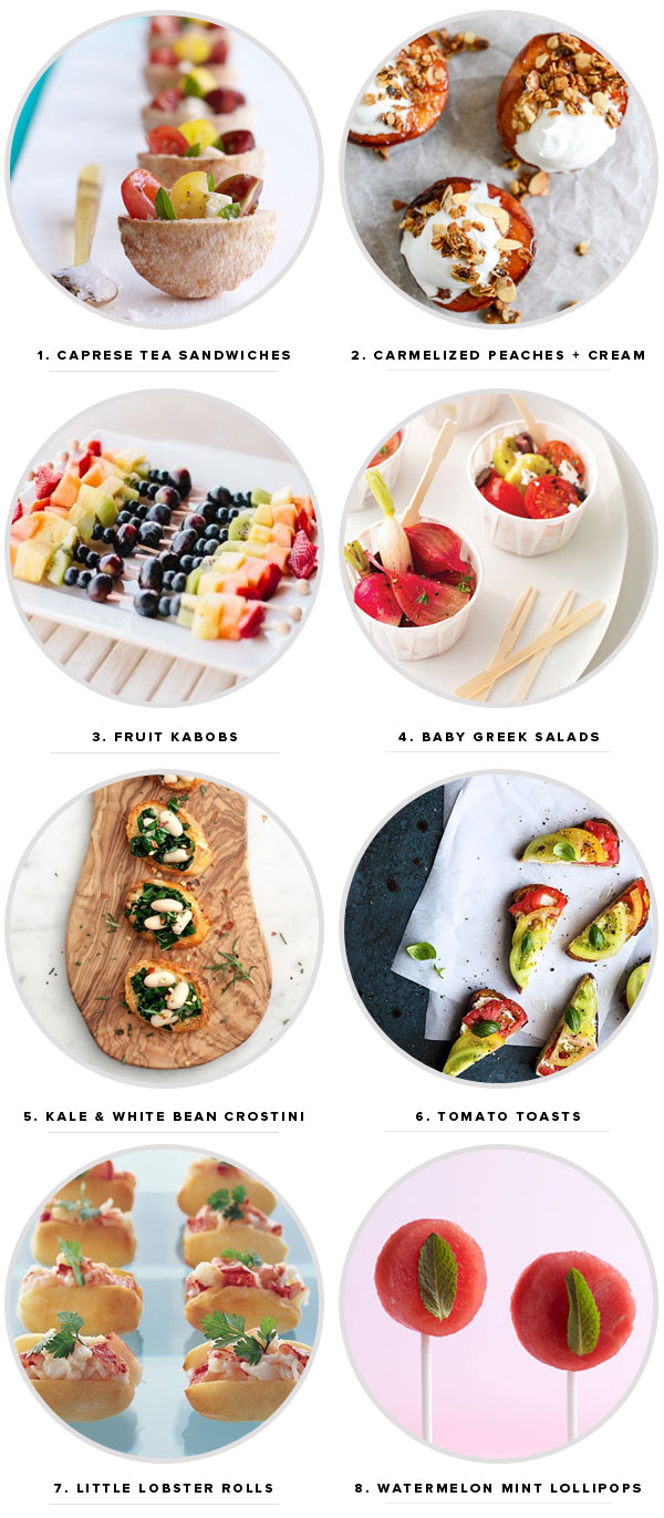 8 Summer Party Appetizers