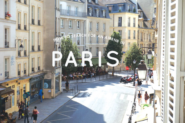 How to search for an airbnb in paris for Airbnb apartments