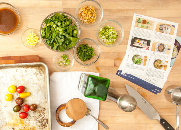 Blue Apron Delivery Service | Oh Happy Day!