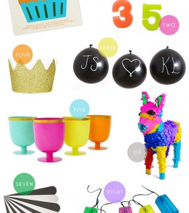 Colorful Party Supplies | Oh Happy Day!