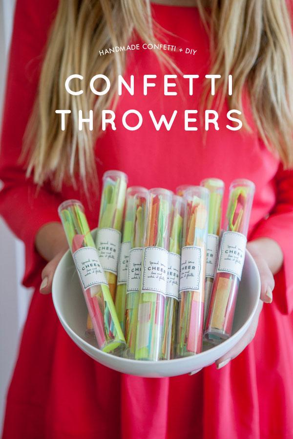 DIY Confetti Throwers | Oh Happy Day!