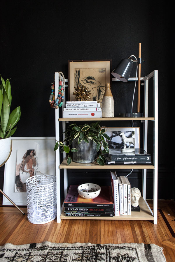 One Bookcase, Three Ways | Oh Happy Day!