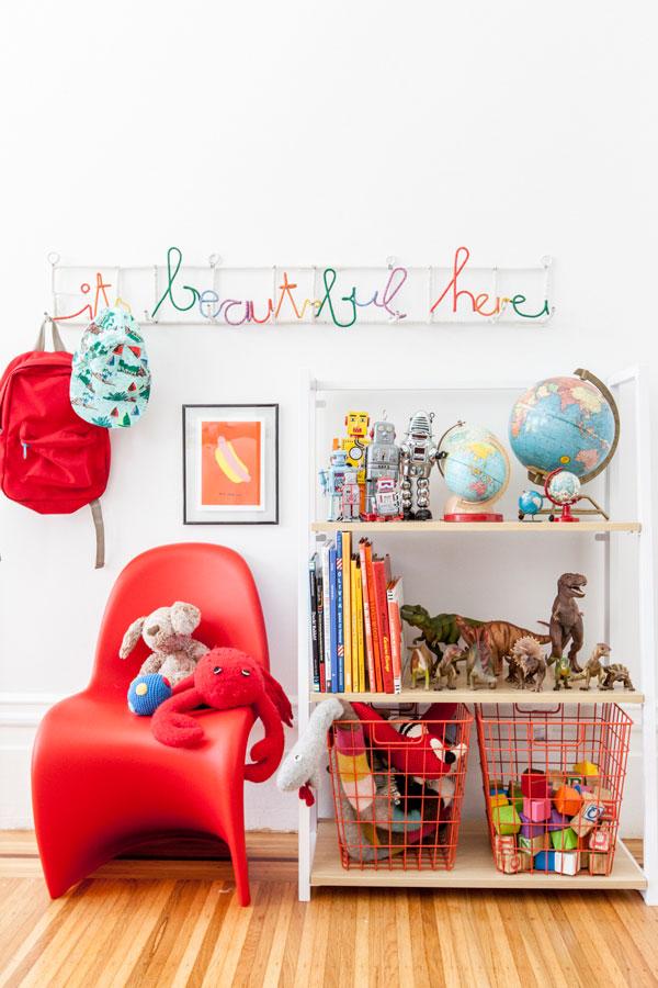 One Bookcase, Three Ways | Oh Happy Day!
