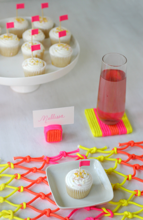 Neon Cord Party | Oh Happy Day!