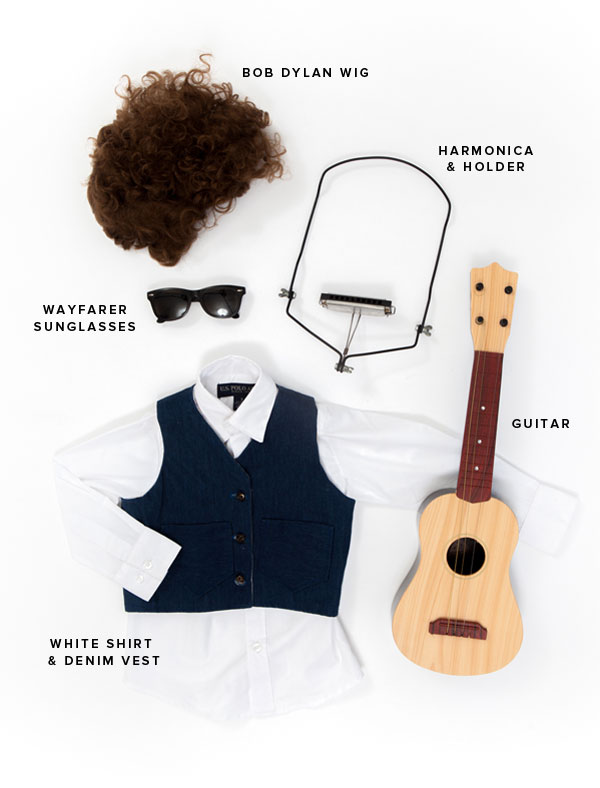 Little Musicians Costumes: Bob Dylan | Oh Happy Day!