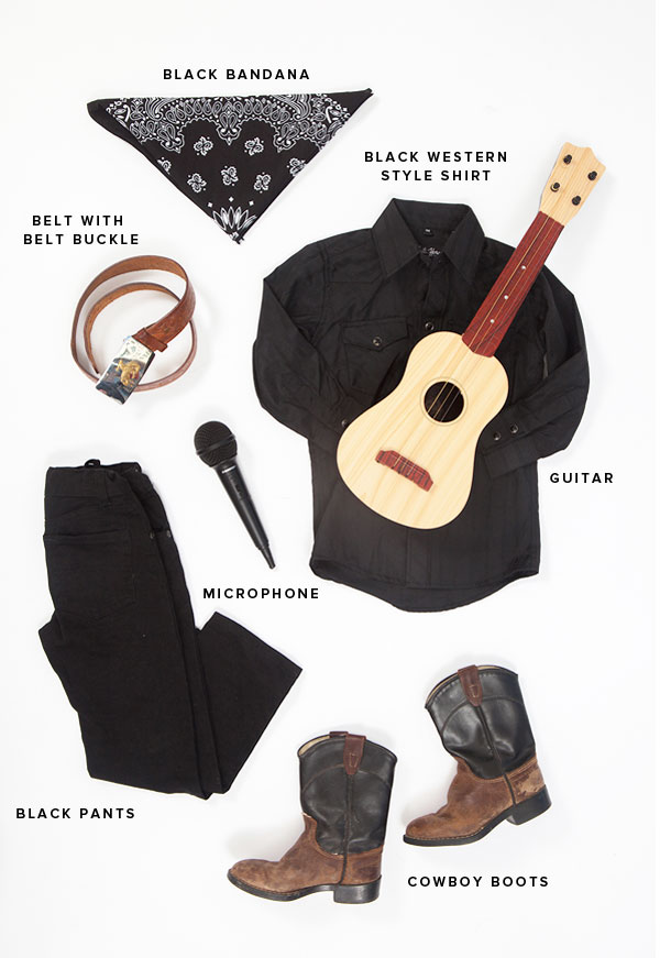 Little Musicians Costumes: Johnny Cash | Oh Happy Day!