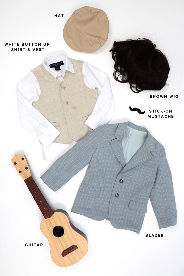 Little Musicians Costume: Simon & Garfunkel (Oh Happy Day!)