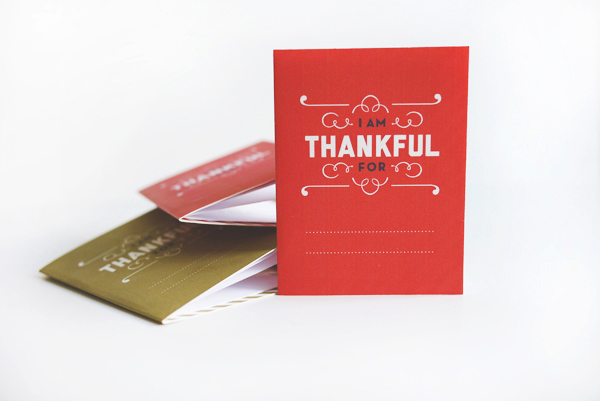 Printable Thankful Booklet | Oh Happy Day!