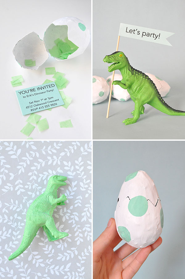 Dinosaur Party Invitations