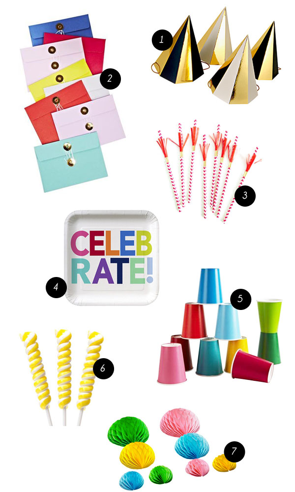 Party Supplies | Oh Happy Day!