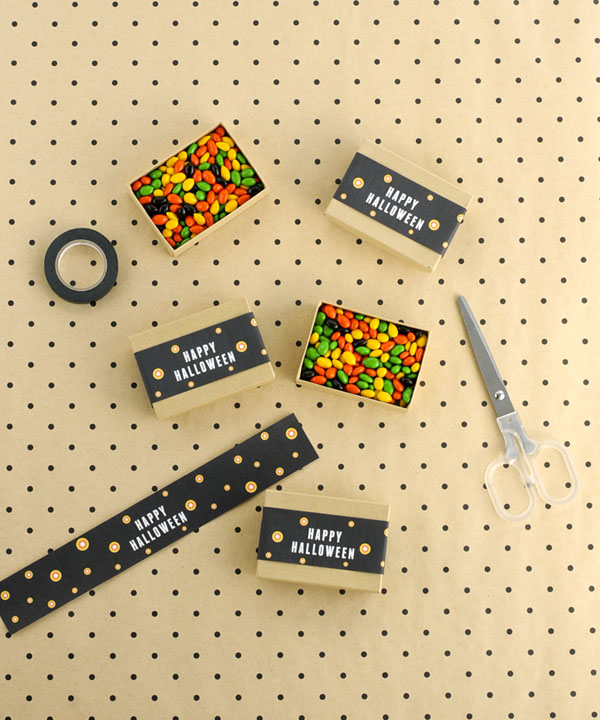 Happy Halloween Candy Box Band DIY | Oh Happy Day!