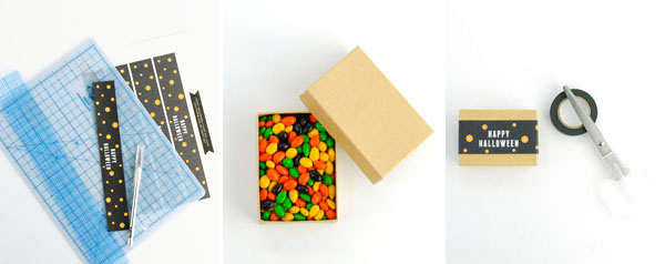 Happy Halloween Candy Box Band DIY   Oh Happy Day!