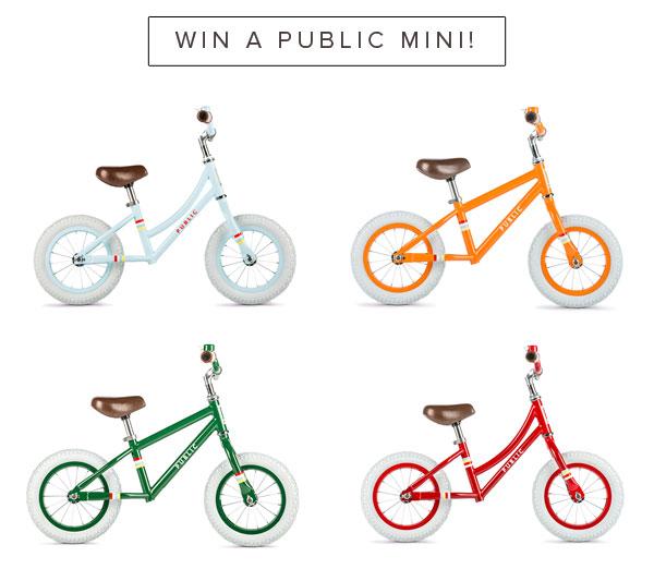 Public Bikes Giveaway