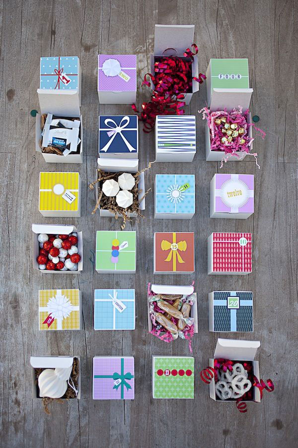 Calendar Ideas Diy : Diy advent calendar ideas